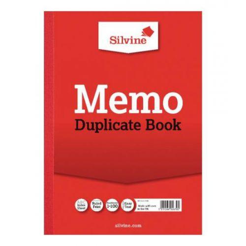 Silvine, 614 Duplicate Book A4
