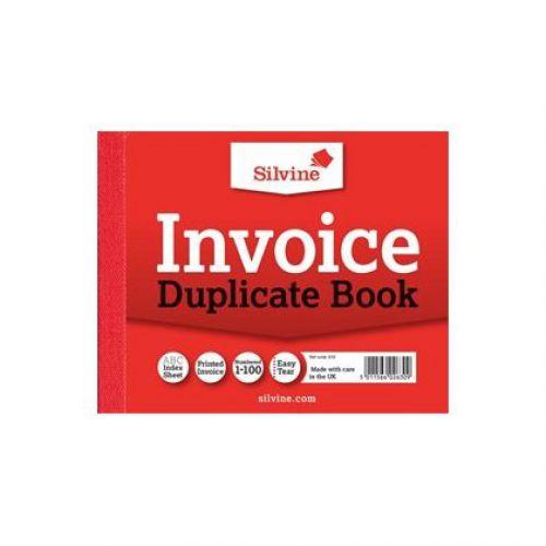 Silvine, 616 Invoice Book 4x5