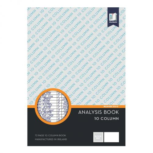 Standard Analysis Book 10 Col.