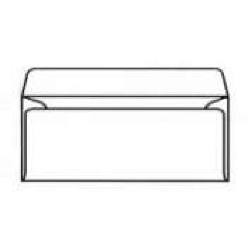 Envelopes 1A04I 4.3x8.7 white self seal 100g