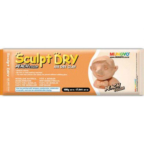 Sculpt-dry Air hardening clay, 500g Peach