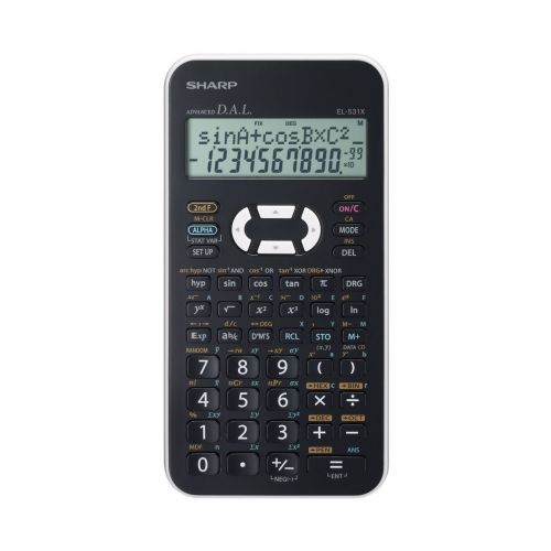 Sharp Scientific Calculator 2 line display