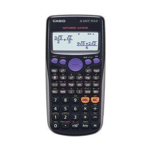 Casio FX83GT Scientific Calculator, natural 4 line display