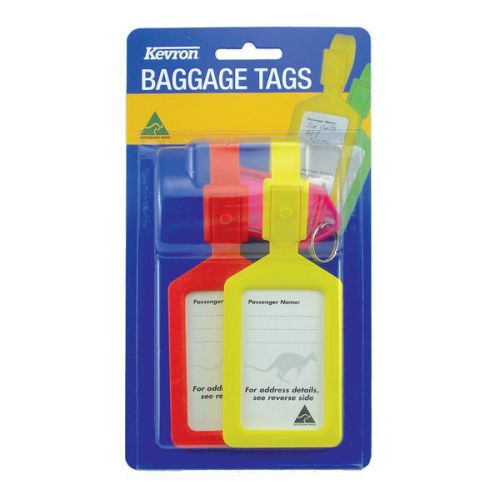 Kevron Baggage Tags card 2 Bx10