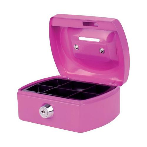 Pavo Cash Box 5 with Coin slot Pink