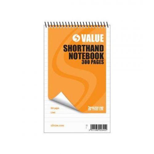 Silvine, 449 Shorthand Notebook 8x5 Jumbo 150 leaves