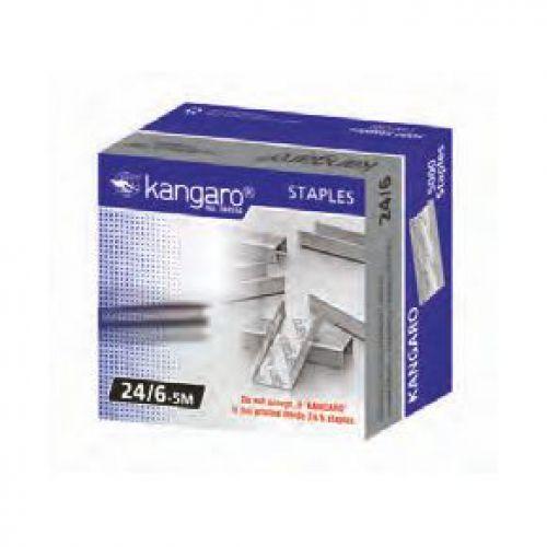 Kangaro Staples 26/6 5000s Bx10