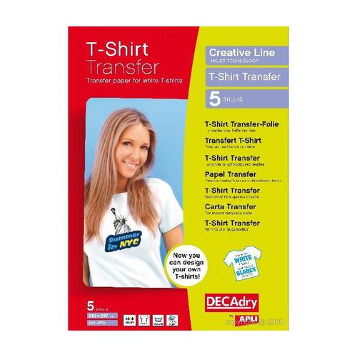 Decadry T-Shirt Transfer Light Pack 5
