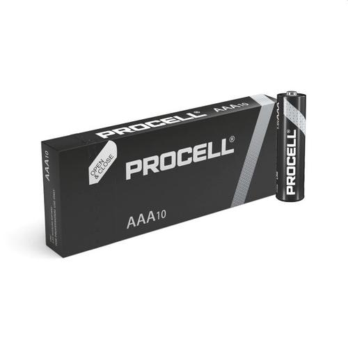 Duracell Procell Industrial Battery AAA Alkaline, 1.5v