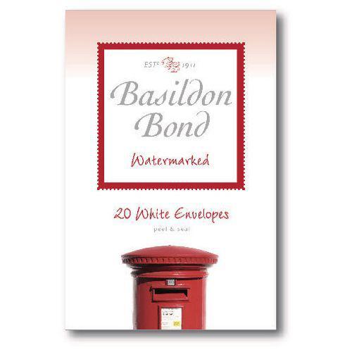 Basildon Bond Duke Env 95x143mm Wht 20s Pack 10