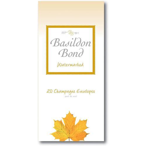 Basildon Bond P4TO Env 89x187mm Chmp 20s Pack 10