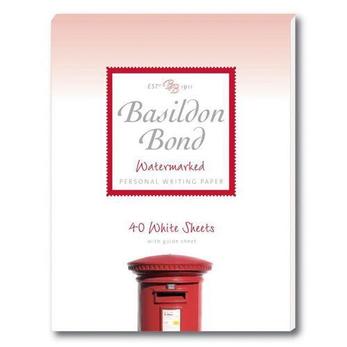 Basildon Bond Duke Pad 137x178mm Wht 40s Pack 10