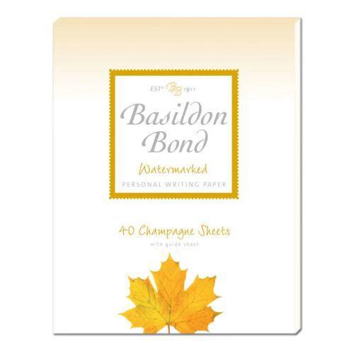 Basildon Bond P4TO Pad 178x229mm Chmp 40s Pack 10