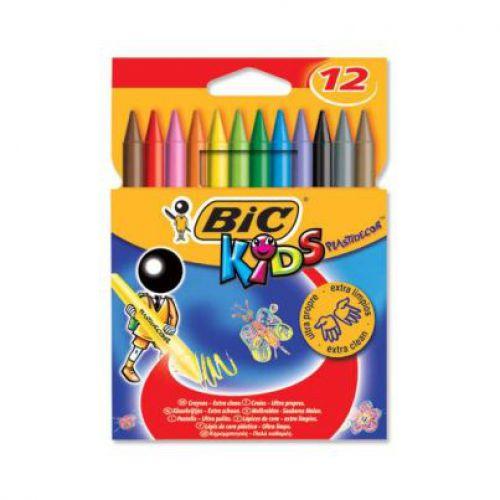 Bic, Kids Evolution Colouring Crayon 12s