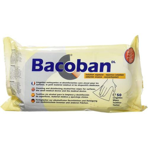 Bacoban Disinfectant Wipes Pack 50