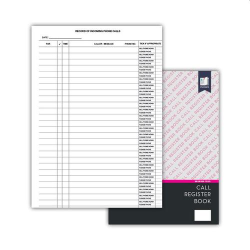 Standard Incoming Call Register, wire bound