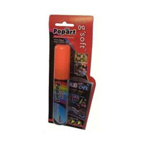 PopArt, 10mm Liquid Chalk Marker carded each, orange