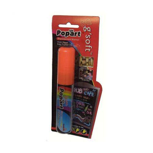 PopArt, 15mm Liquid Chalk Marker carded each, orange