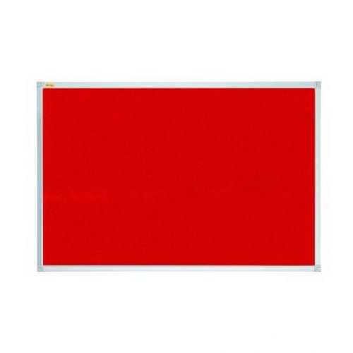 Franken Felt Pinboard X-tra 2400x1200mm Red