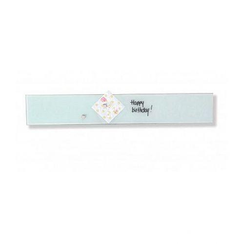 Franken Glassboard 100x600mm White