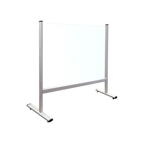 Tabletop Divider Acrylic Glass 65x60cm
