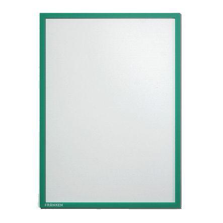 Franken Document Holder A3 Magnetic Green Pack 5