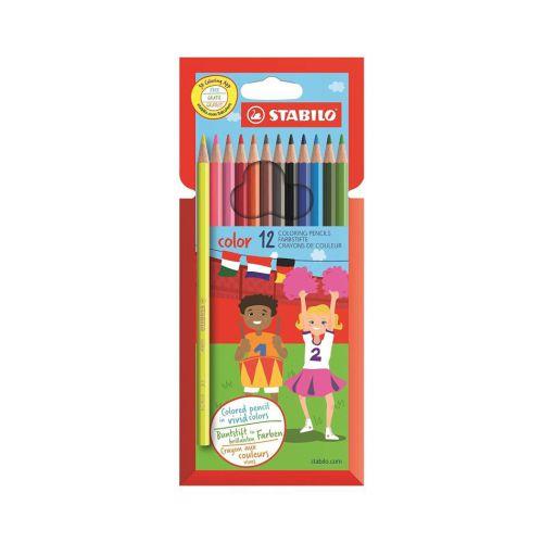 Stabilo Colour Pencils 12 Ast Colours