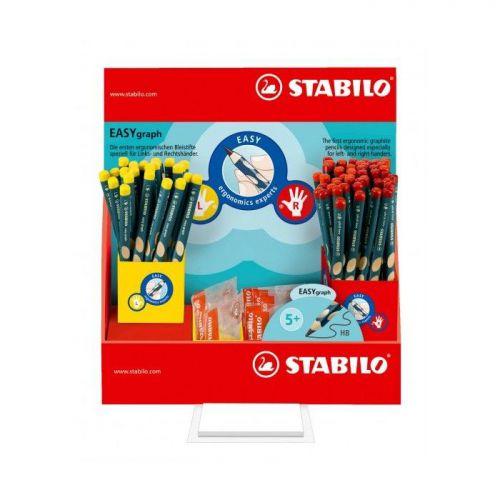 Stabilo, 330 EASYgraph Pencil Counter Display, 72 pcs