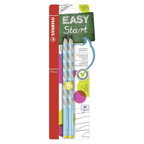 EASYgraph Pencil HB Blue L/H card 2