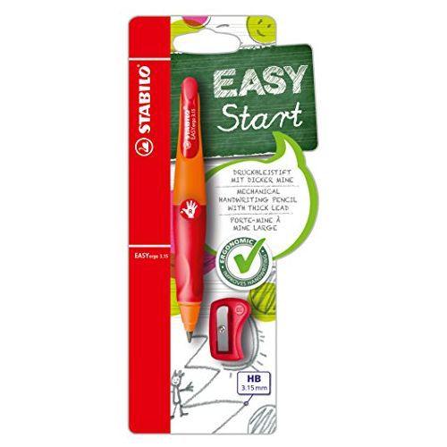 Stabilo EASYergo pencil 3.15 Orange R/H