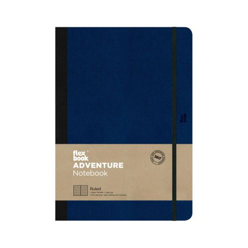 Flexbook Adventure 17x24cm Ruled/Dated Ry Bu Pk3