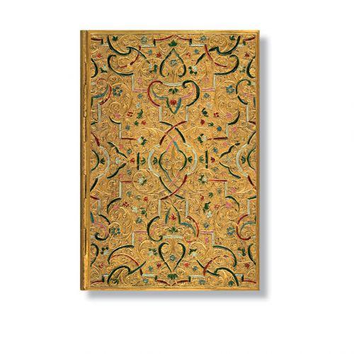Gold Inlay Address Book midi