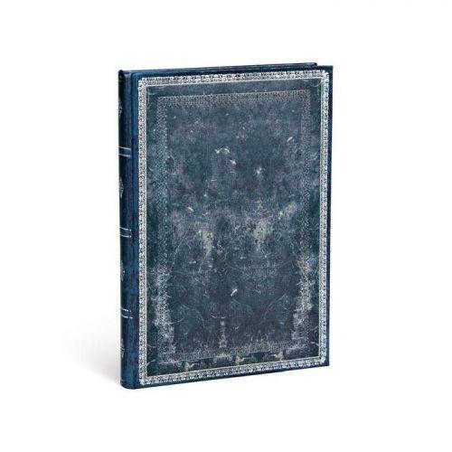 Midnight Steel Address Book Midi