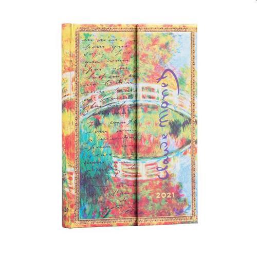 Monet (Bridge) Letter to Morisot WTV 2021 Diary mini verso