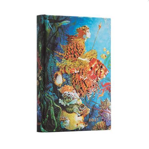 Sea Fantasies Page a Day 2021 Diary midi