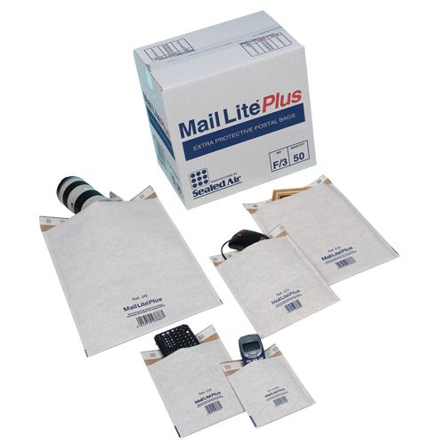 Mail Lite Plus Oyster Postal Bags B/00 120x210mm Internal Pack 100