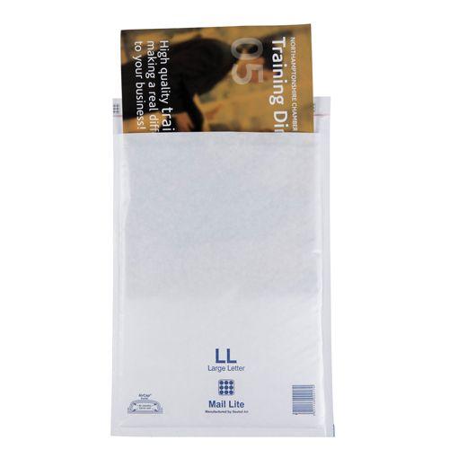 Mail Lite White Bubble Bag 240x330mm (Internal Size) Peel & Seal G/4 52446 [Box 50]