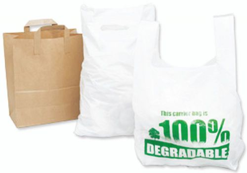 Carrier Bag 381 x 457 x 76mm (15 x 18 x 3) 30mu Patch Handle Box 500