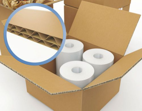 Corrugated Box Double Wall 0201 125T/BC/T 711 x 71 1 x 406mm (28 x 28 x 16) Pack 5/Bundle