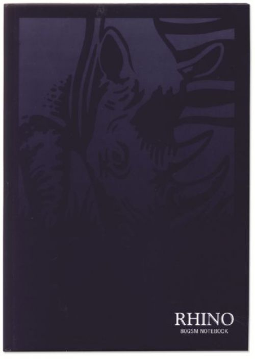 Rhino Casebound Book 8mm Ruled 9x7 Blue 160 Page Pack of 5 RCB97B 3P