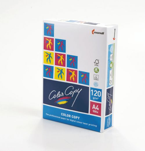 Color Copy Paper FSC Mix Credit A4 210x297 mm 350Gm2 White Pack of 125
