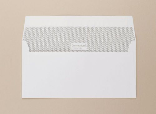 Communique Wallet Envelope Peel Seal Window 18Up 20Flhs 100Gm2 DL 110x220mm White Pack of 500 01024