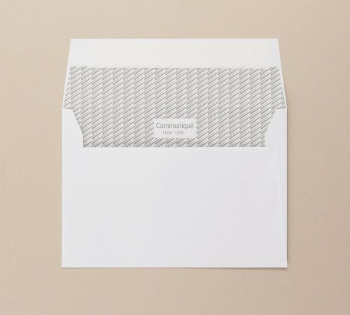 Communique Wallet Envelope Peel Seal C6 FSC4 114X162mm Sup 500/Bx