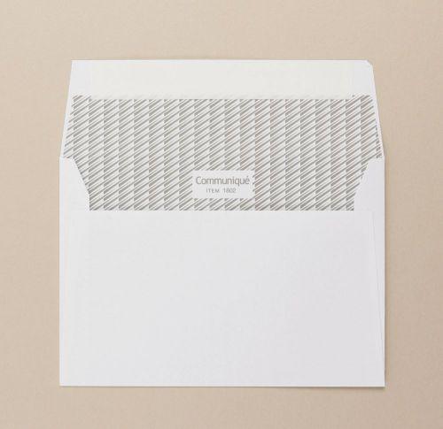 Communique Wallet Envelope Peel Seal Window 38Up 17Flhs C6 114x162mm 100Gm2 White Pack of 500 01802