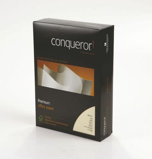 Conqueror Texture Paper A4 Vellum Laid 100gsm (500) 20261