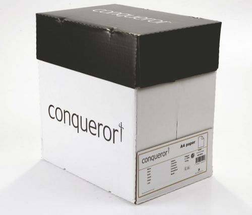 Conqueror Paper Smooth/Satin Wove Vellum FSC4 A4 210x297mm 100Gm2 Watermarked Pack 500