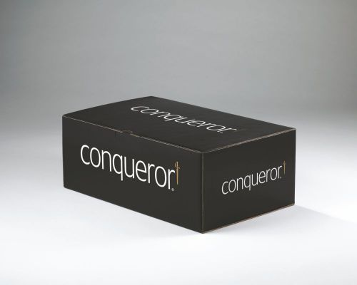 Conqueror Laid Diamond DL Envelope FSC4 110X220mm Sup/Seal Bnd 50 Box500