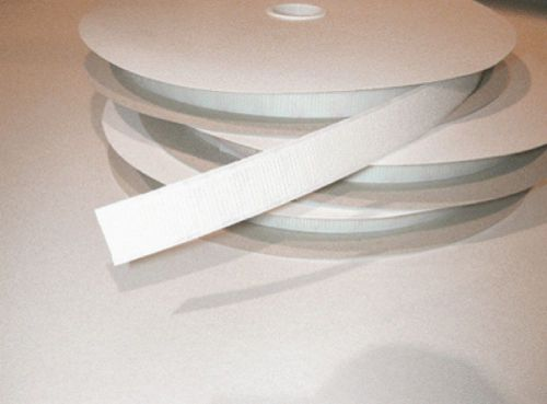 Hook & Loop System White S/A Tape 50mm x 25M Pack 1