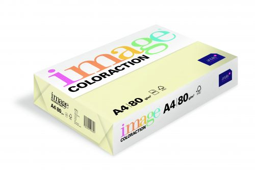 Image Coloraction Atoll FSC Mix Credit A4 210x297 mm 80Gm2 Pale Ivory Pack of 500 78606