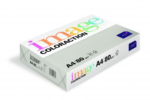 Image Coloraction Tinted Paper A4 80gsm Mid Grey Iceland (500) 89613